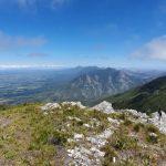 View from top of George Peak