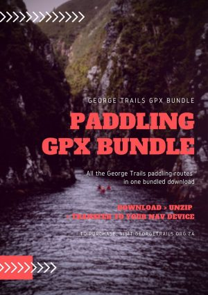 paddling routes near george