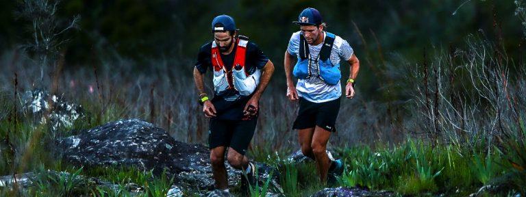 Trail runners on George 6 peaks trail